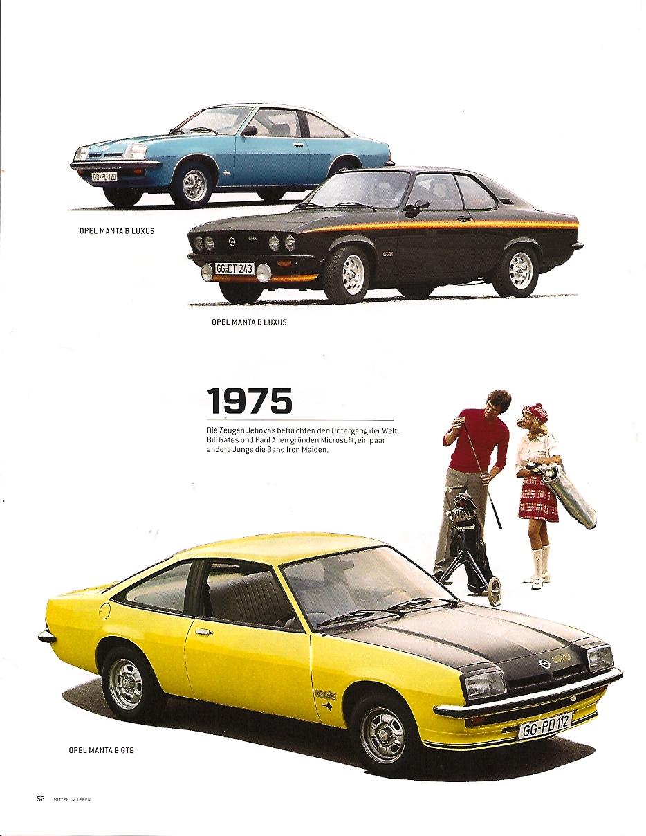 Opel Manta 1975 im ramp magazin