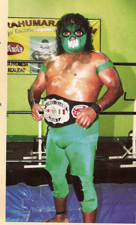 Mexikanischer Wrestler