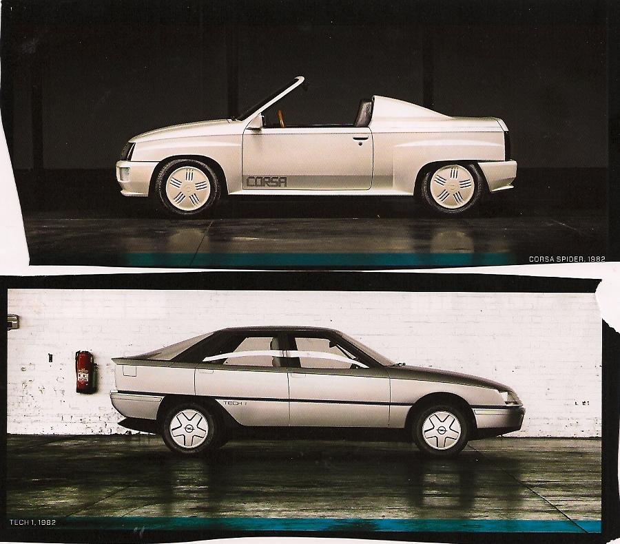Opel Tech 1 und Opel Corsa Spider 1982 in ramp magazin