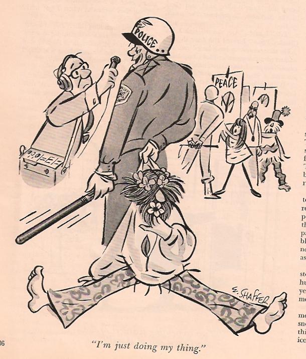Playboy Cartoon William Shaffer March 1969