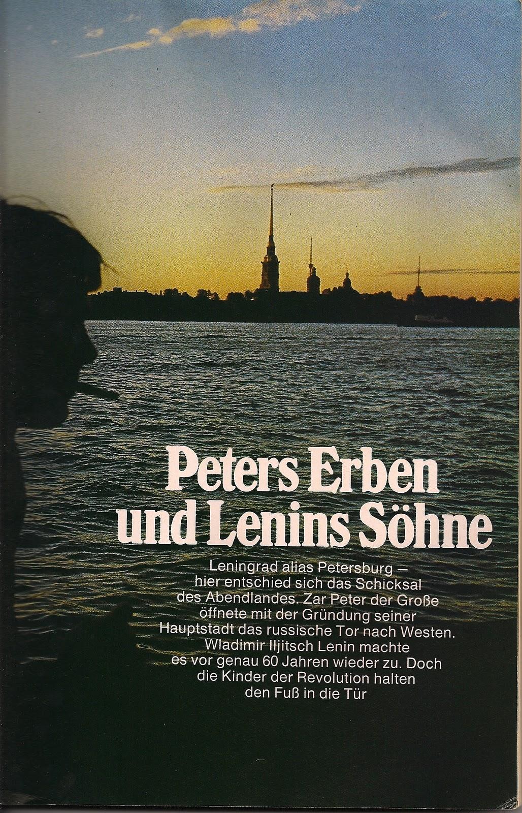 St. Petersburg GEO Magazin Oktober 1977 Valentin Polcuch