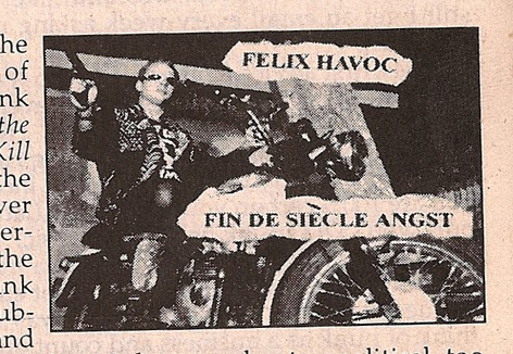 Felix Havoc Column Maximum Rocknroll