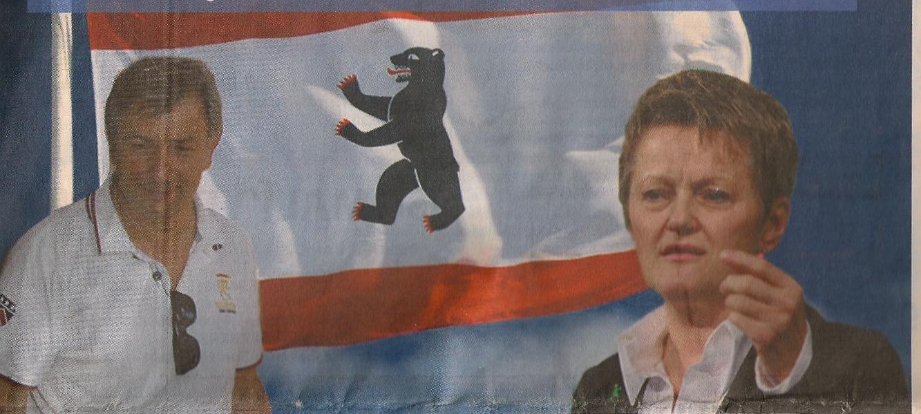 Whalkampf Abgeordnetenhaus 2011 Wowereit gegen Künsat