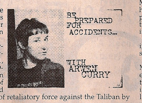 Arwen Curry Column Maximum Rocknroll