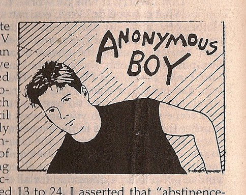 Anonymous Boy Column Maximum Rocknroll