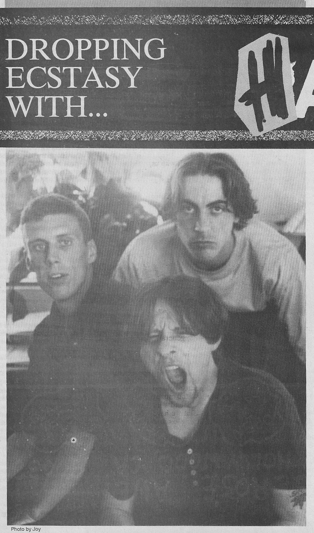 Happy Mondays Interview Flipside 1989