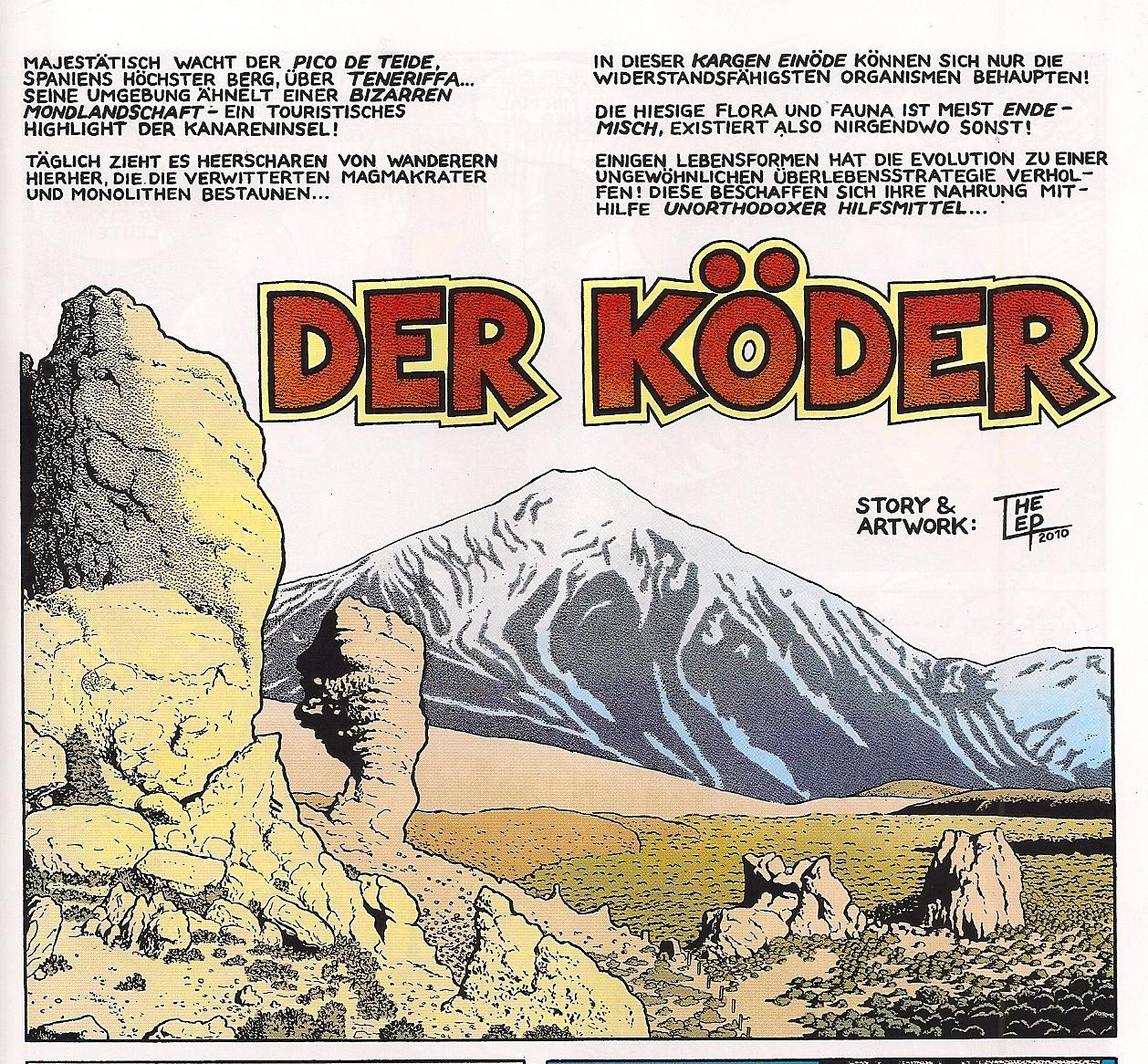 Weissblech Comics The Lep Der Köder