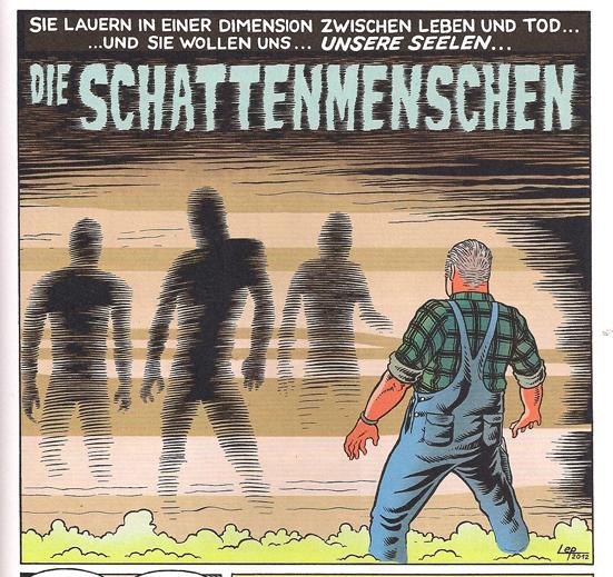 Weissblech Comics The Lep Schattenmenschen