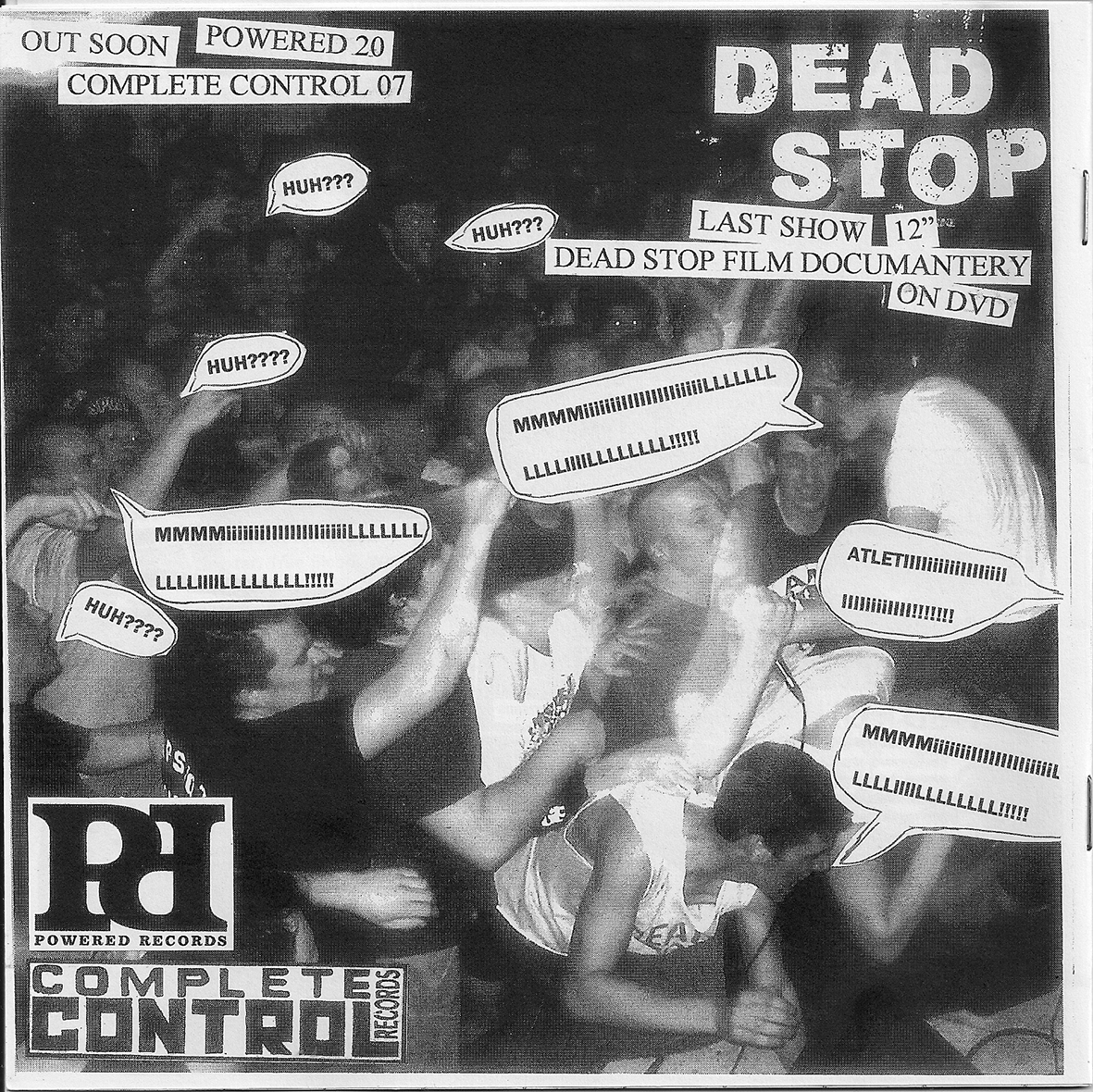 Dead Stop Last Show LP and documentary ad