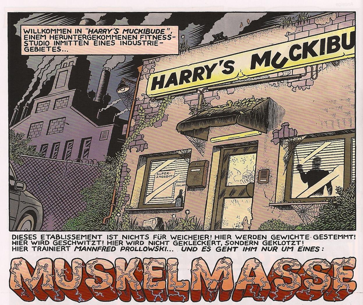 Weissblech Comics The Lep Muskelmasse