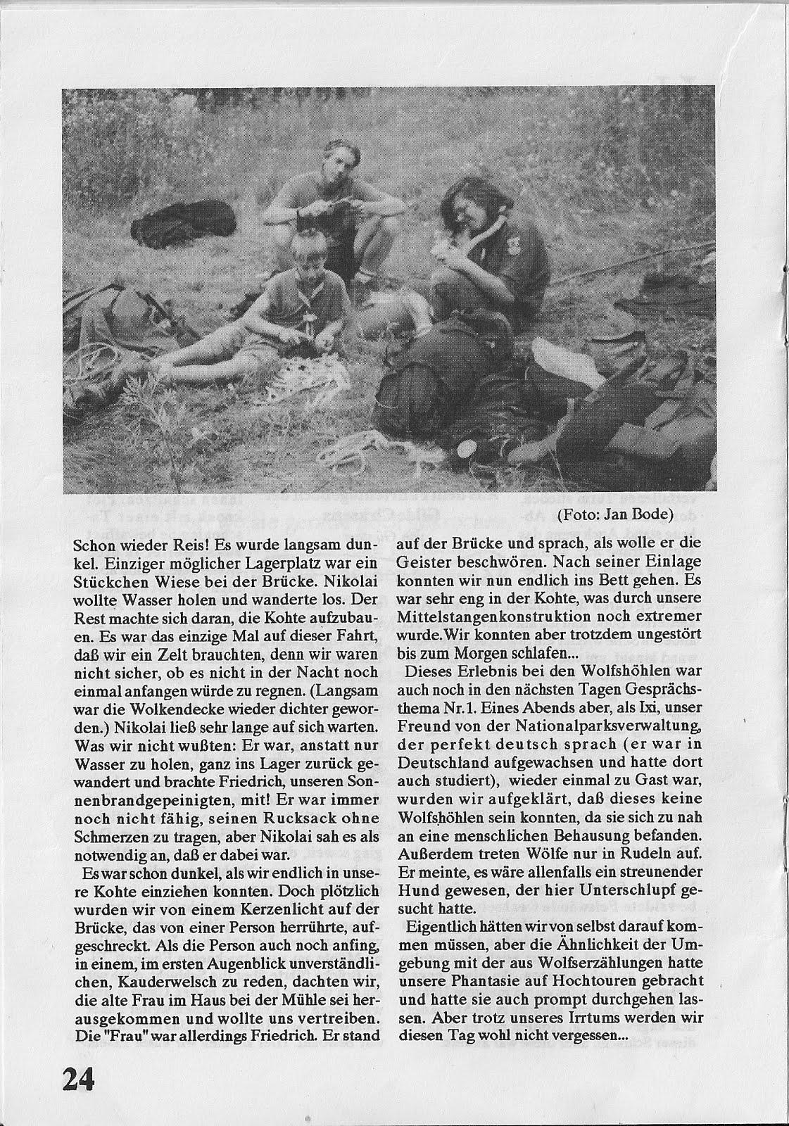 Sommerfahrt Vaganten Aurich 1990 Jugoslawien 1