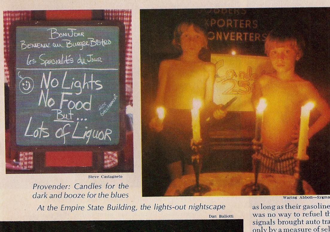New York Blackout 1977 Newsweek
