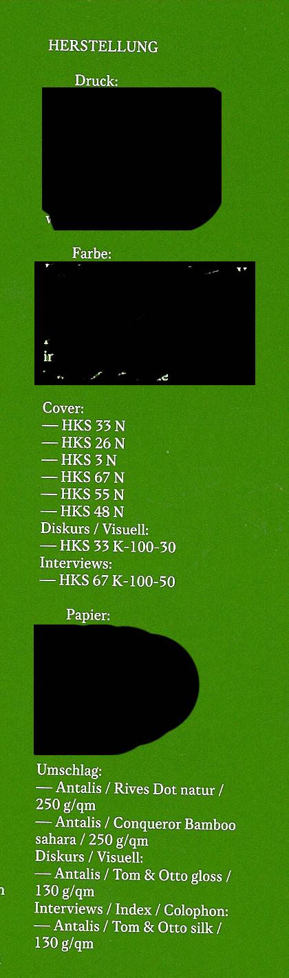 slanted magazin papier impressum