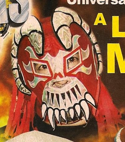 Lucha Libre rote Maske
