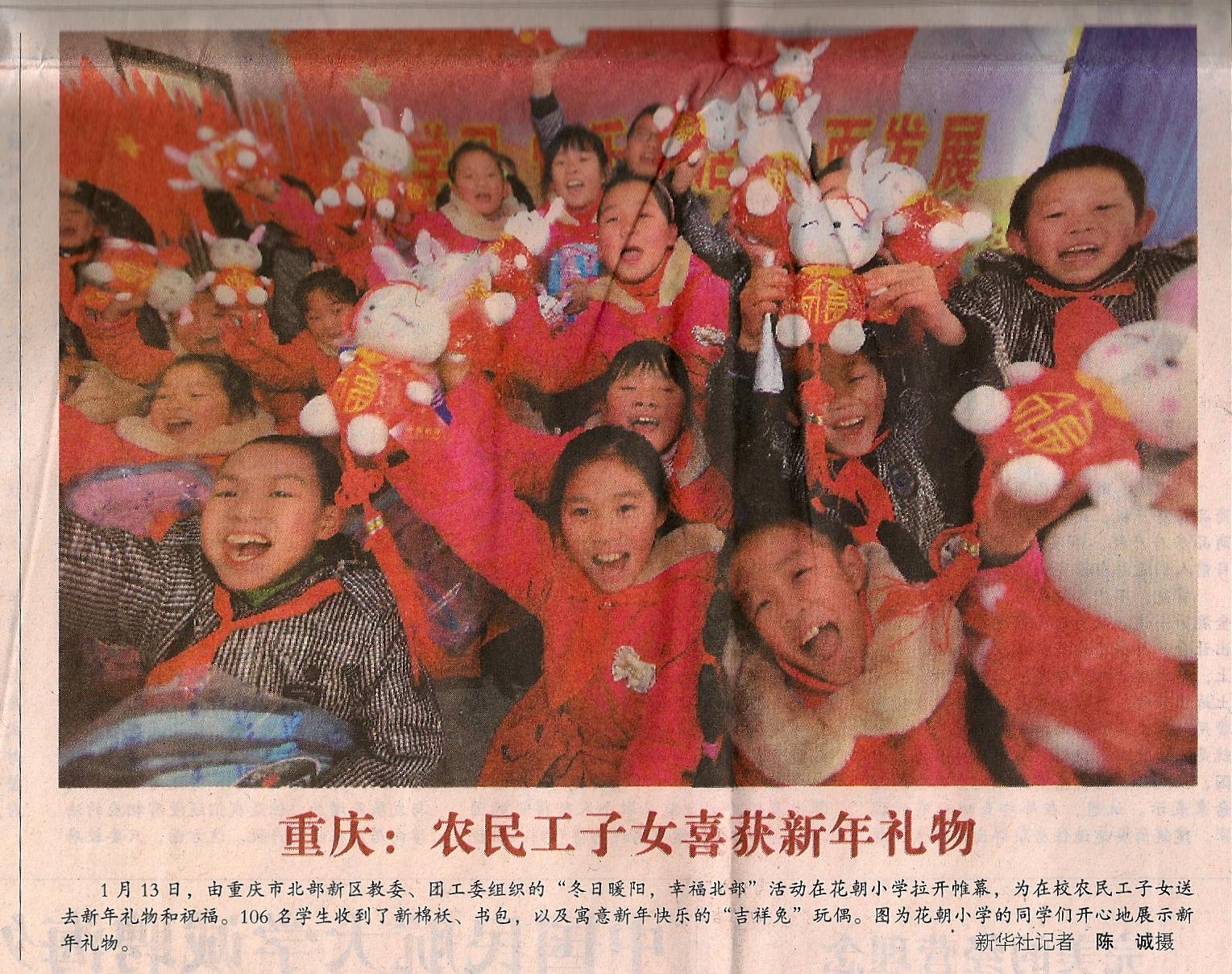 Jahr des Hasen 2011 China