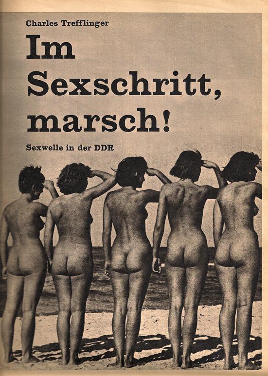 konkret Sexwelle in der DDR