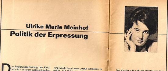 Ulrike Meinhof konkret 1965