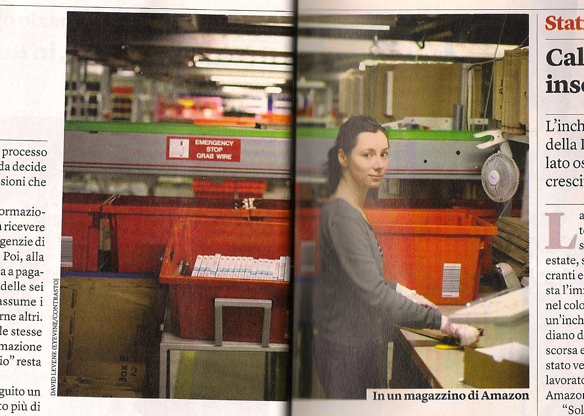 Italienische Arbeiterin
