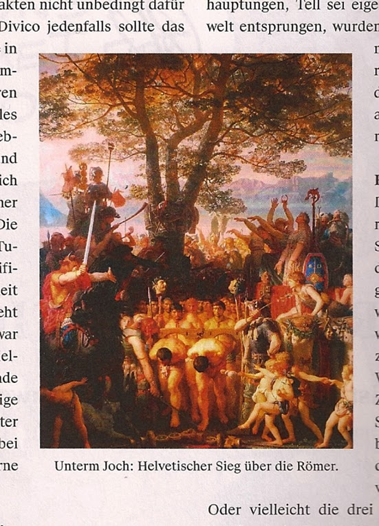 Charles Gleyere Les Romans passant sous le joug (1858)
