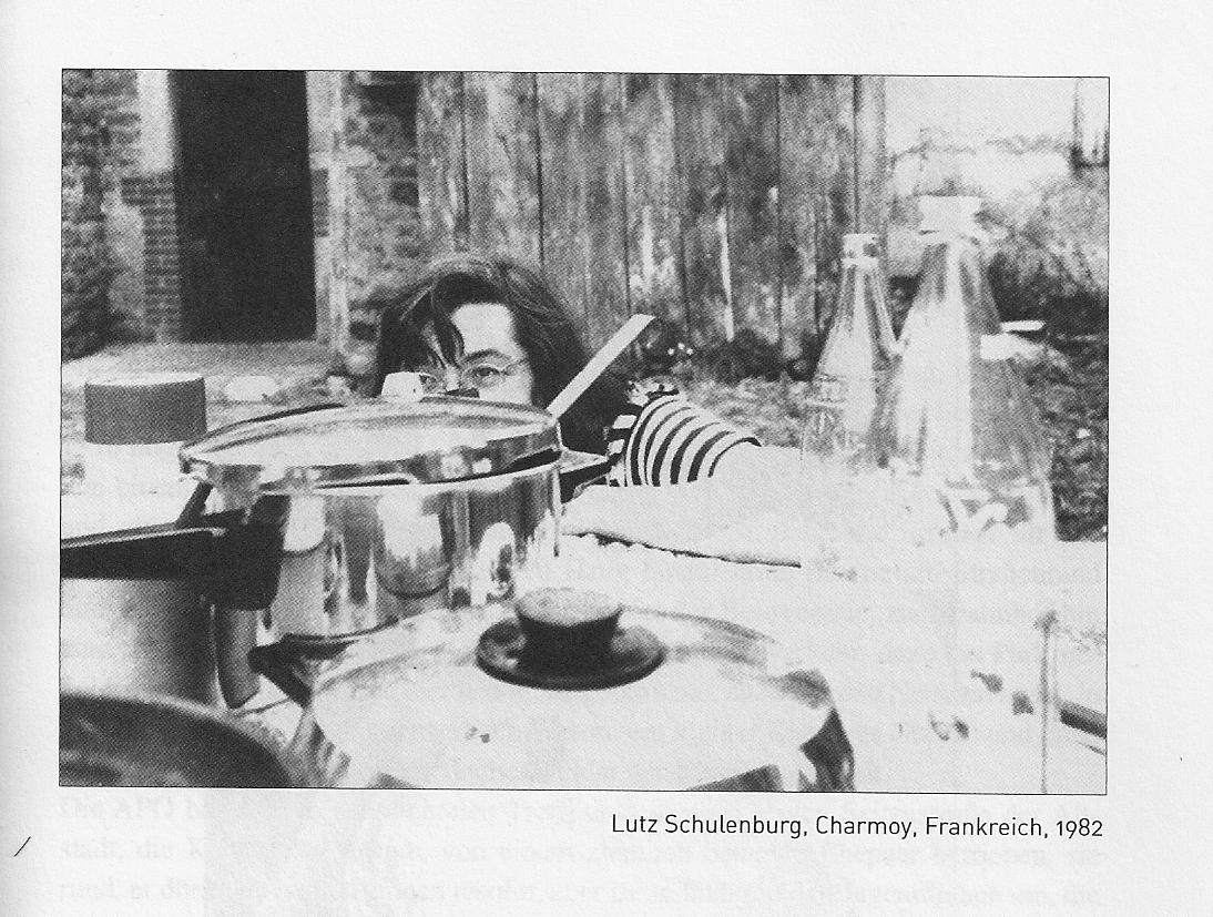 Lutz Schulenburg, Charmoy Frankreich 1982