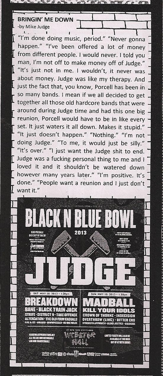 Judge Reunion Review #HARDCORE