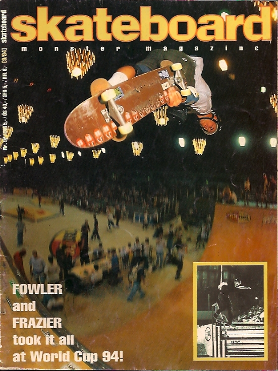monster skateboard magazine 9 1994