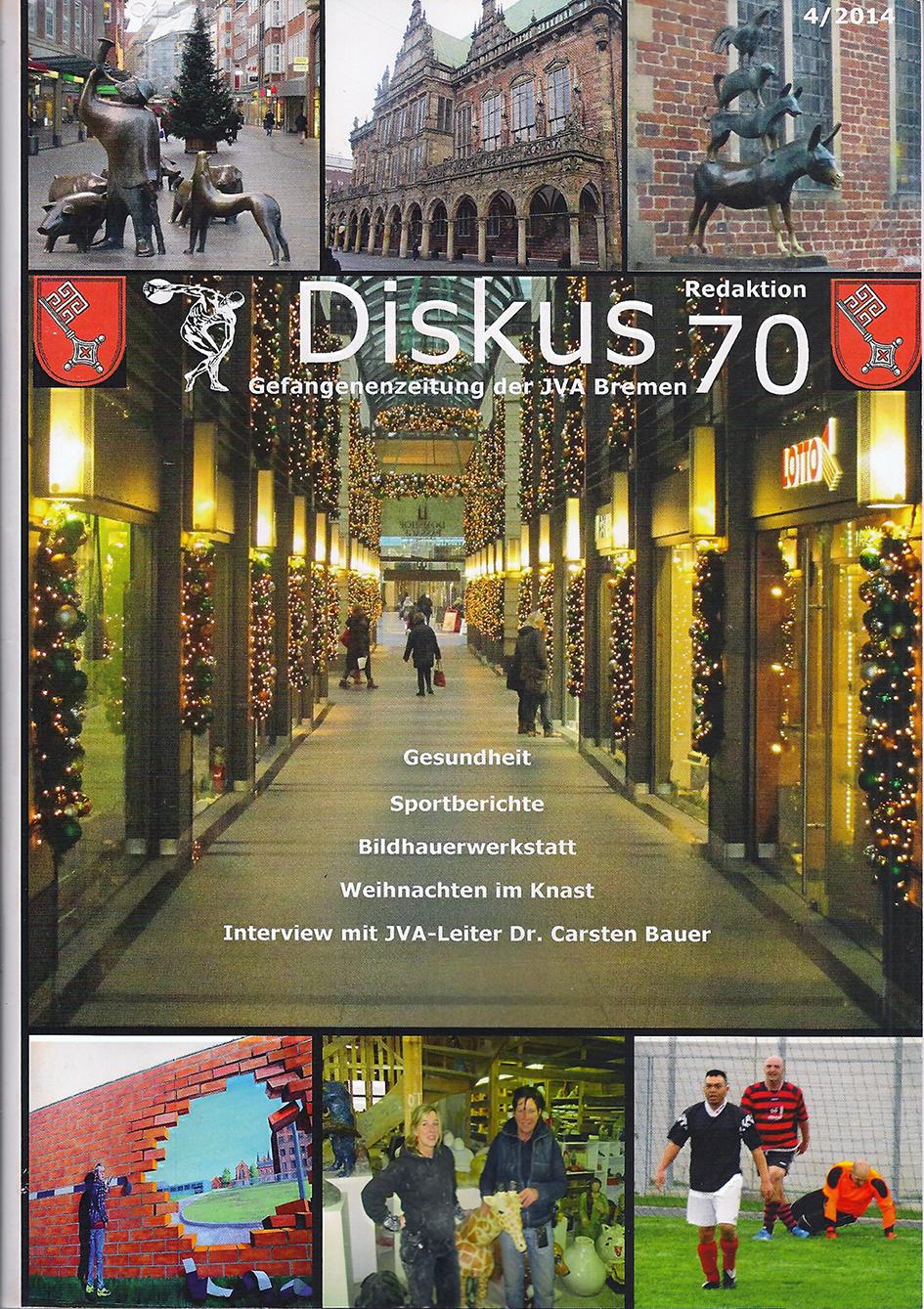 Diskus 70 Knastzeitung Bremen