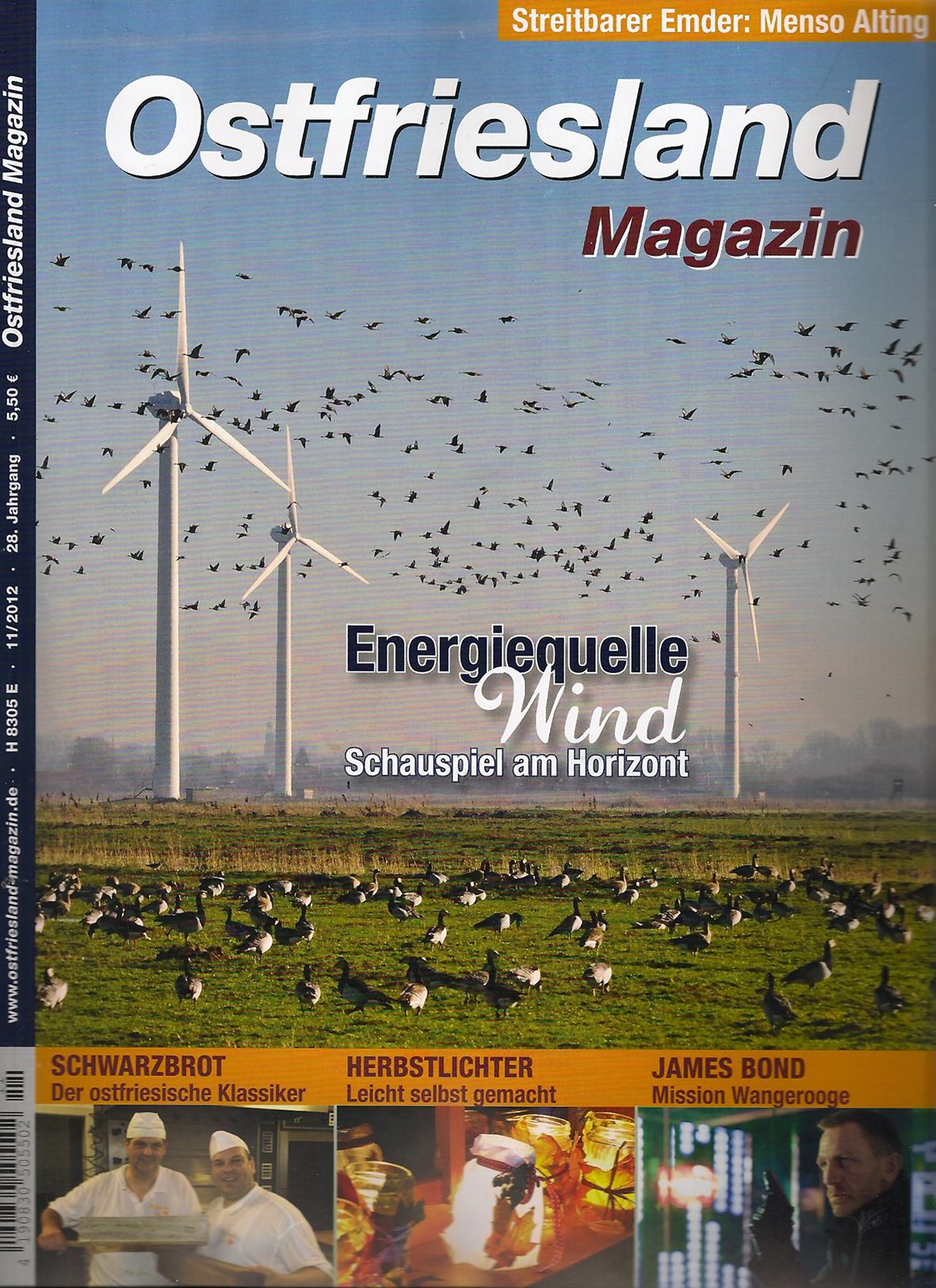 Ostfriesland Magazin - 11/2012
