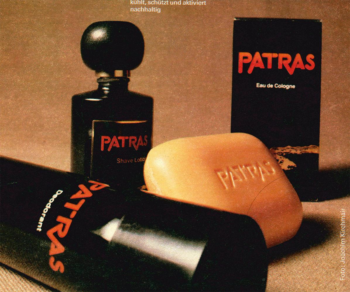 Werbung Patras Parfum DDR